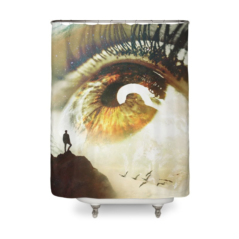 Vision Home Shower Curtain by nicebleed