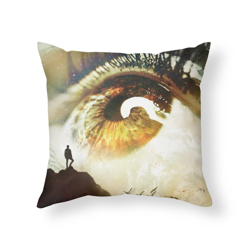 Vision Home Throw Pillow by nicebleed