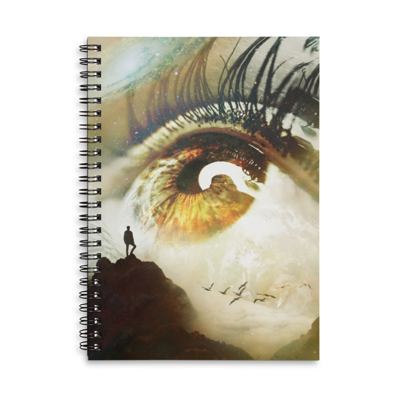 Vision Accessories Lined Spiral Notebook by nicebleed