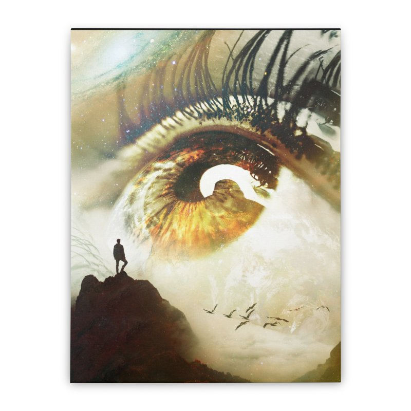Vision Home Stretched Canvas by nicebleed
