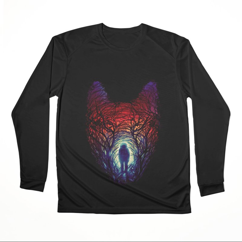 Into The Woods Women's Performance Unisex Longsleeve T-Shirt by nicebleed