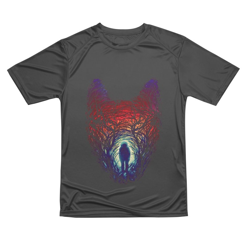 Into The Woods Men's Performance T-Shirt by nicebleed