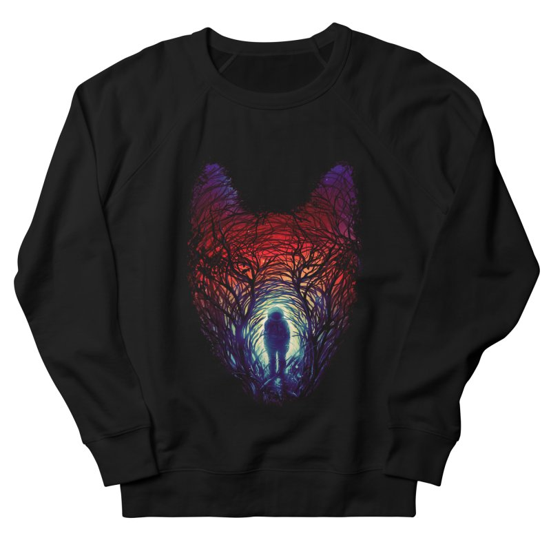 Into The Woods Men's French Terry Sweatshirt by nicebleed