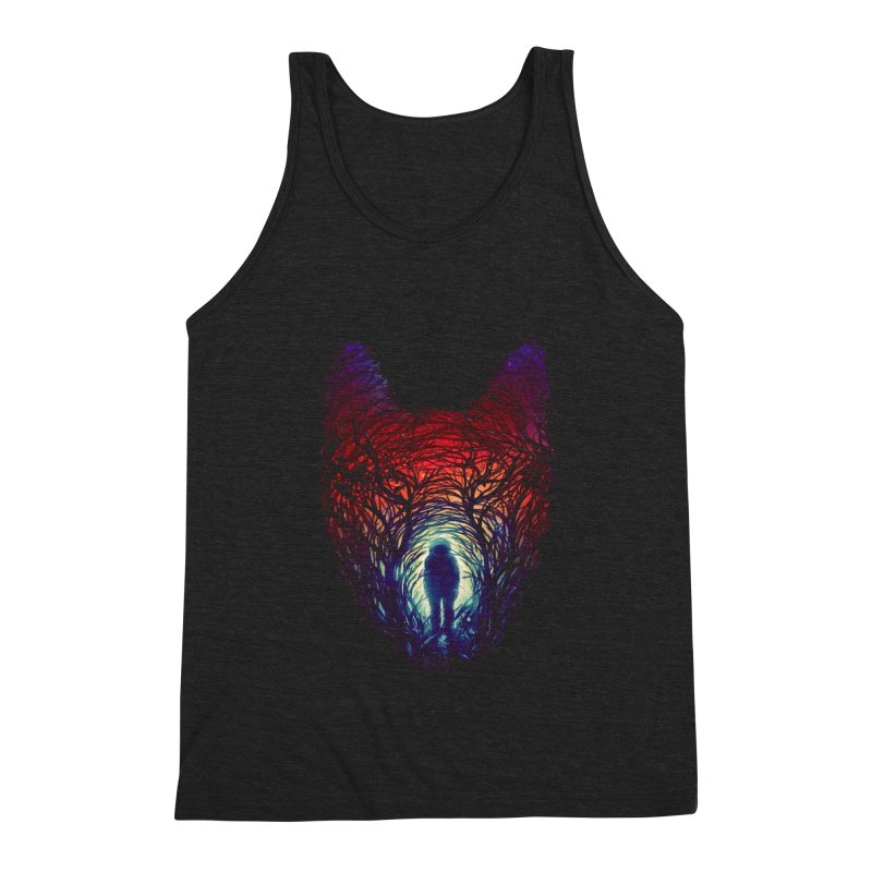 Into The Woods Men's Triblend Tank by nicebleed