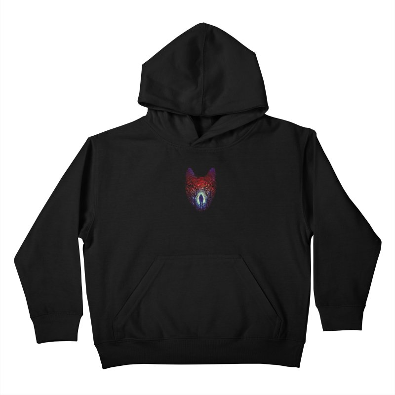 Into The Woods Kids Pullover Hoody by nicebleed