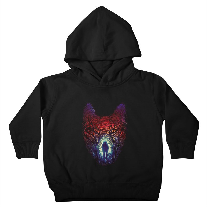 Into The Woods Kids Toddler Pullover Hoody by nicebleed