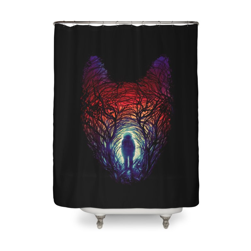 Into The Woods Home Shower Curtain by nicebleed