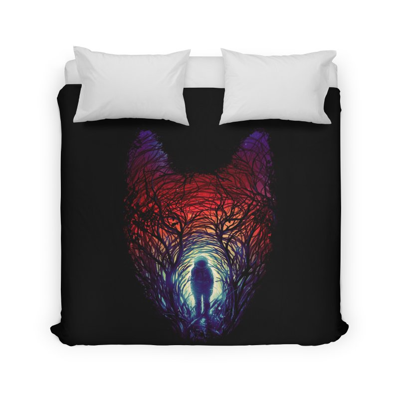 Into The Woods Home Duvet by nicebleed