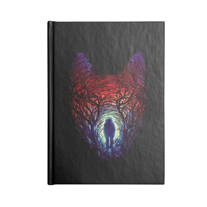 Into The Woods Accessories Blank Journal Notebook by nicebleed