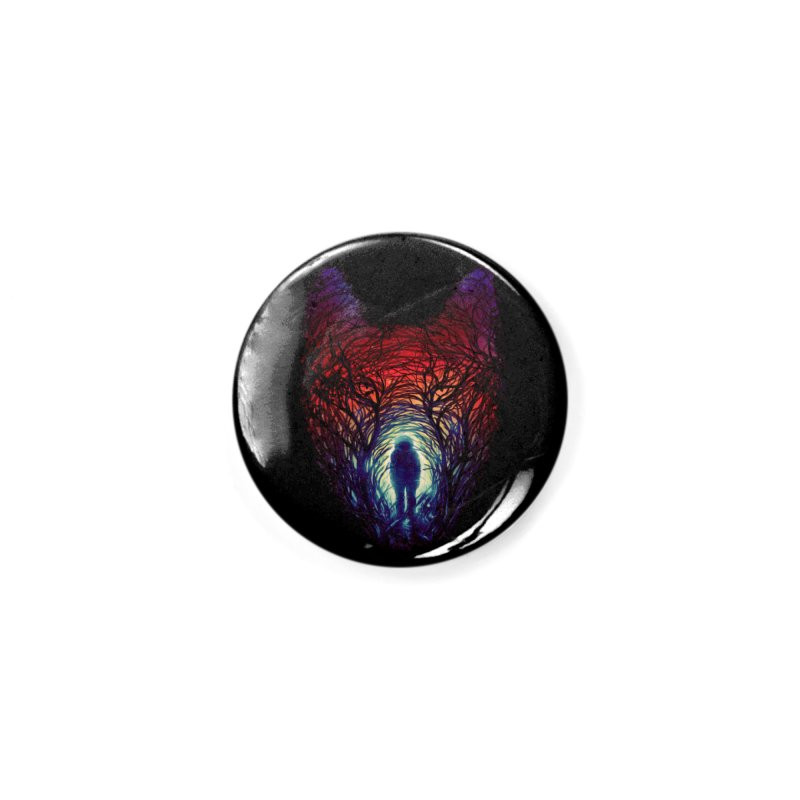 Into The Woods Accessories Button by nicebleed