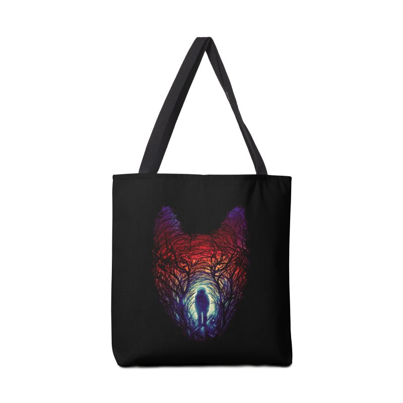 Into The Woods Accessories Tote Bag Bag by nicebleed