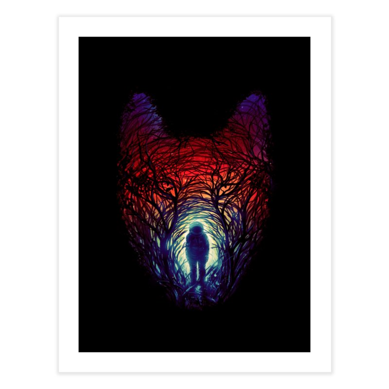 Into The Woods Home Fine Art Print by nicebleed
