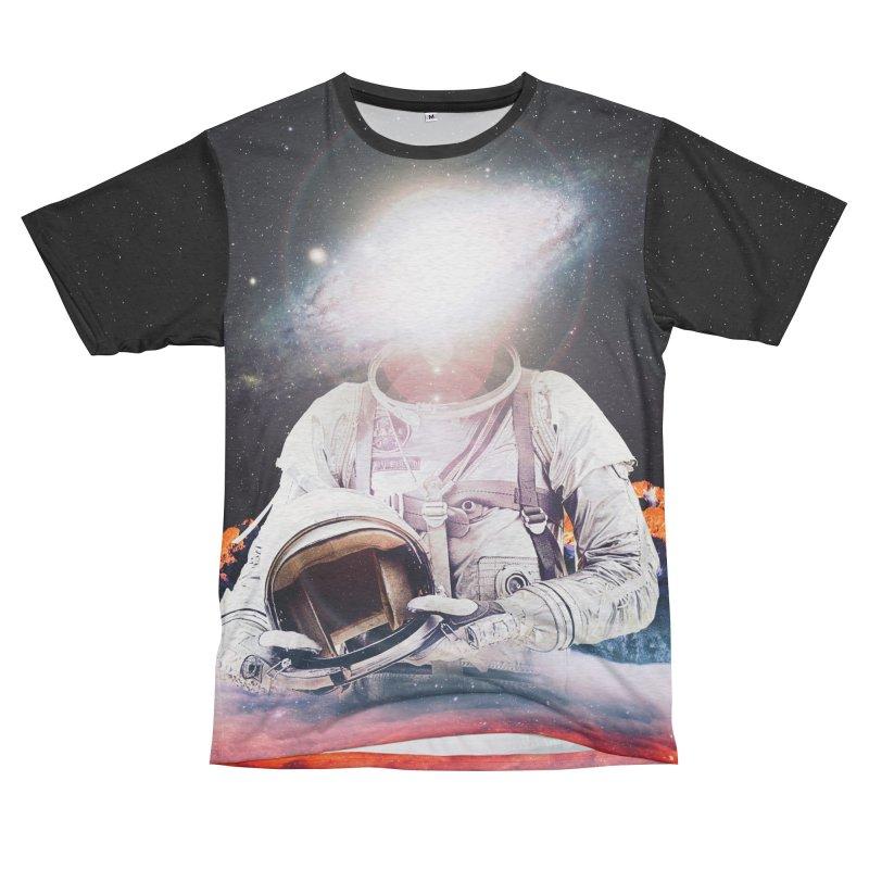 Mr. Galaxy Women's Unisex French Terry T-Shirt Cut & Sew by nicebleed