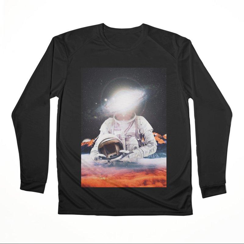 Mr. Galaxy Women's Performance Unisex Longsleeve T-Shirt by nicebleed