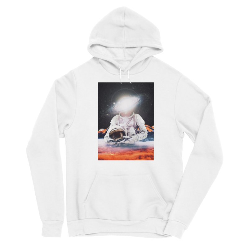 Mr. Galaxy Women's Sponge Fleece Pullover Hoody by nicebleed