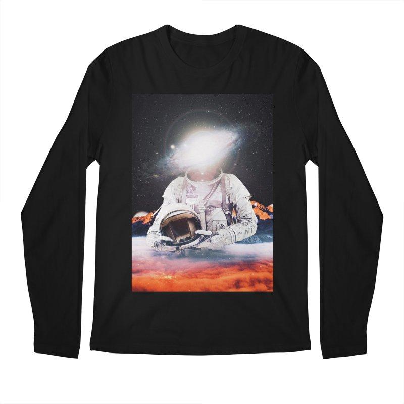 Mr. Galaxy Men's Regular Longsleeve T-Shirt by nicebleed
