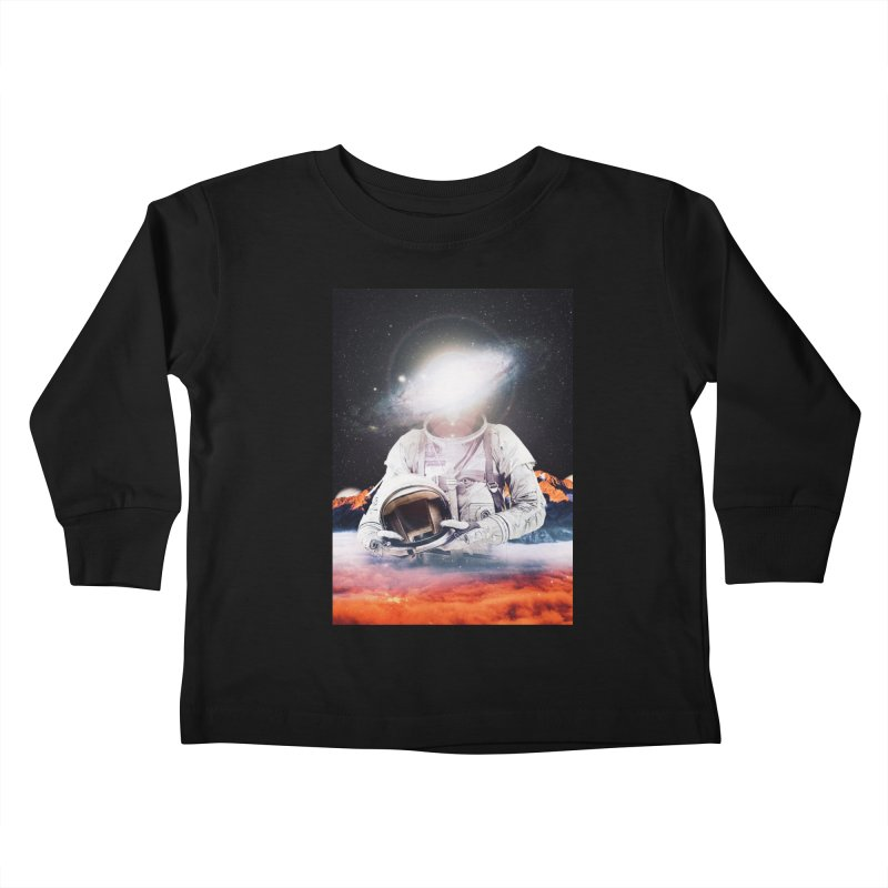 Mr. Galaxy Kids Toddler Longsleeve T-Shirt by nicebleed