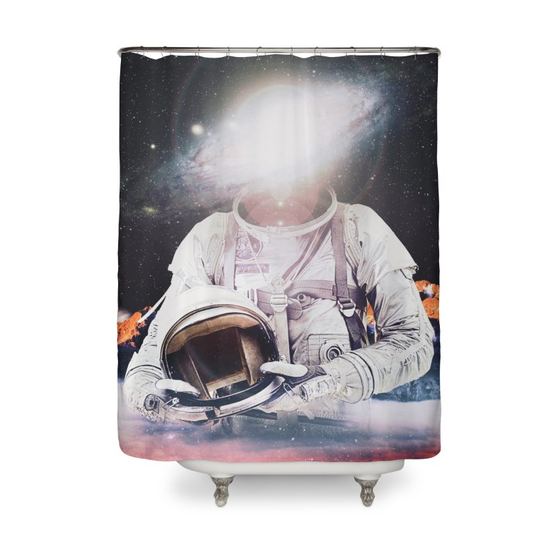 Mr. Galaxy Home Shower Curtain by nicebleed