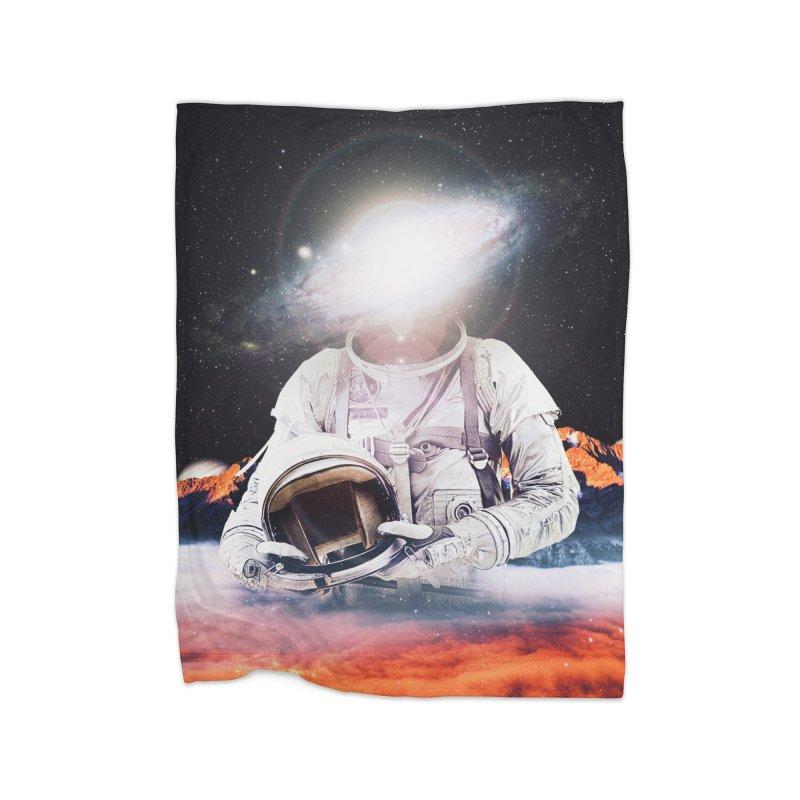 Mr. Galaxy Home Fleece Blanket Blanket by nicebleed