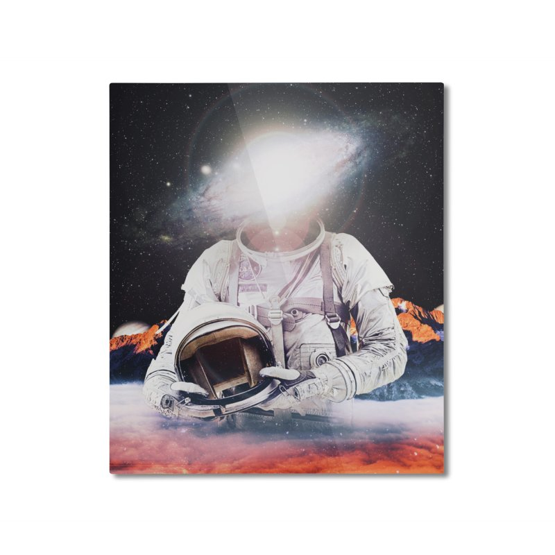 Mr. Galaxy Home Mounted Aluminum Print by nicebleed
