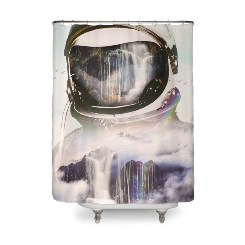 The Spectator Home Shower Curtain by nicebleed