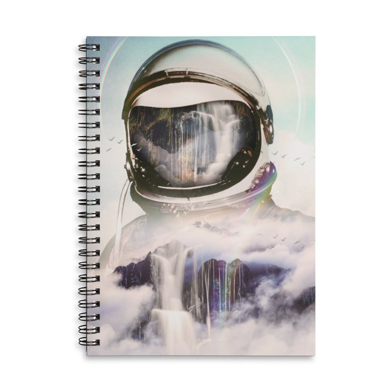 The Spectator Accessories Lined Spiral Notebook by nicebleed
