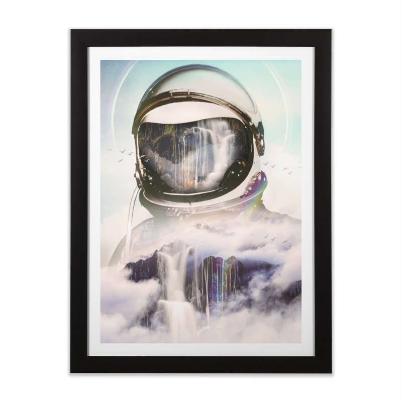 The Spectator Home Framed Fine Art Print by nicebleed