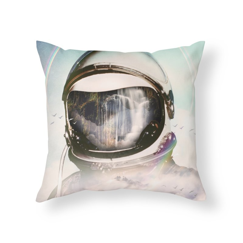The Spectator Home Throw Pillow by nicebleed