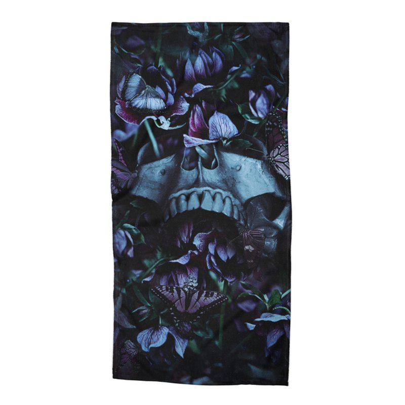 Blossom Death Accessories Beach Towel by nicebleed