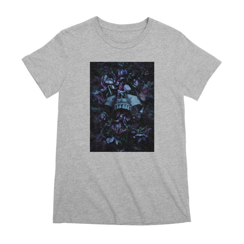 Blossom Death Women's Premium T-Shirt by nicebleed