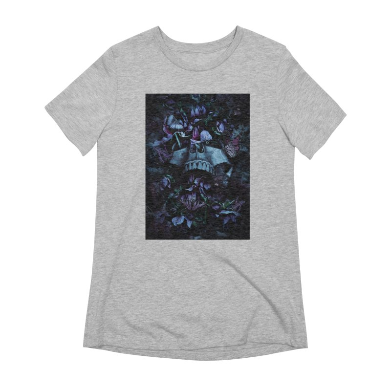 Blossom Death Women's Extra Soft T-Shirt by nicebleed