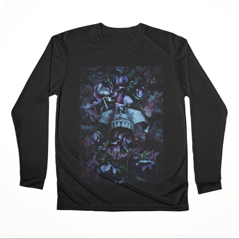 Blossom Death Women's Performance Unisex Longsleeve T-Shirt by nicebleed