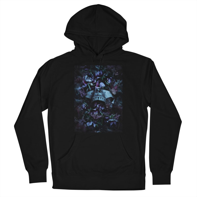 Blossom Death Men's French Terry Pullover Hoody by nicebleed