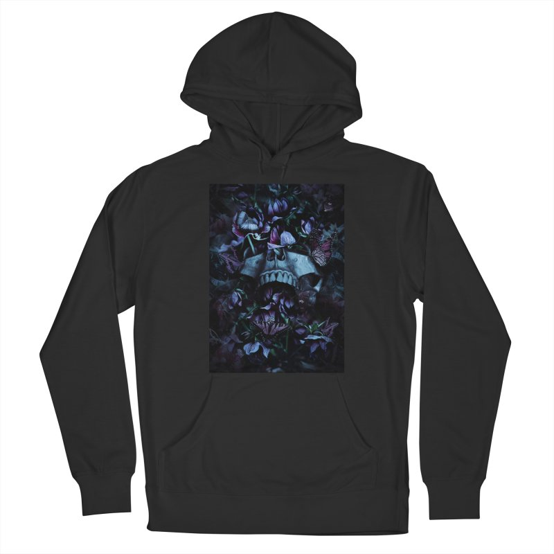 Blossom Death Women's French Terry Pullover Hoody by nicebleed