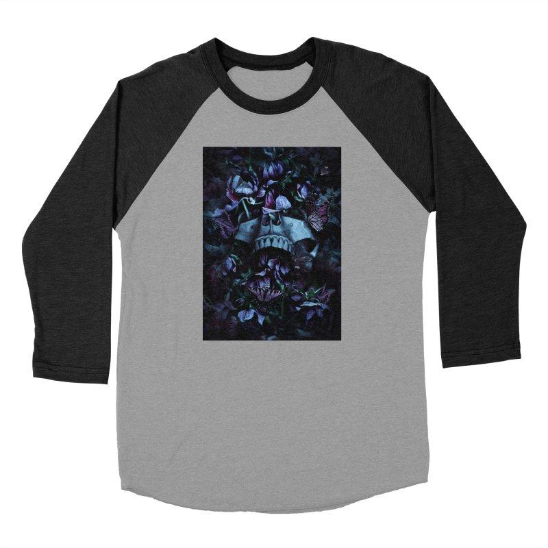 Blossom Death Women's Baseball Triblend Longsleeve T-Shirt by nicebleed