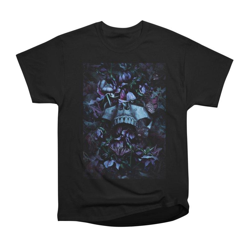 Blossom Death Women's Heavyweight Unisex T-Shirt by nicebleed