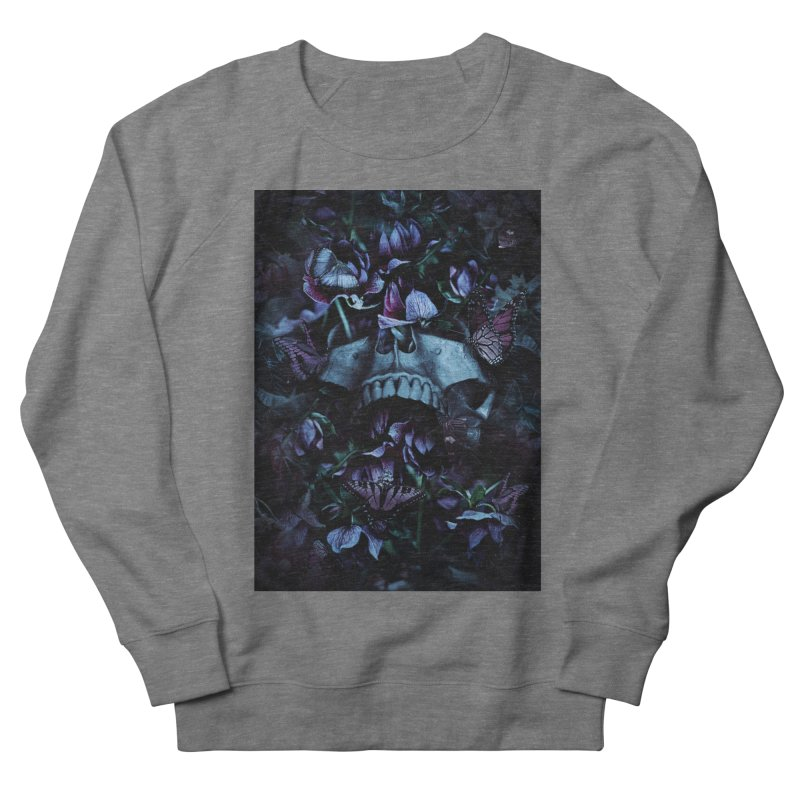 Blossom Death Men's French Terry Sweatshirt by nicebleed