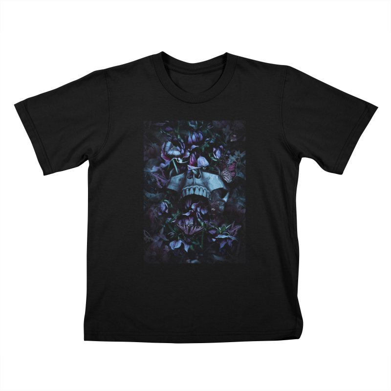 Blossom Death Kids T-Shirt by nicebleed