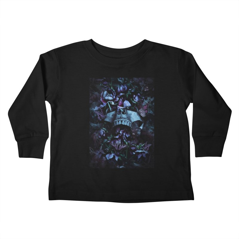 Blossom Death Kids Toddler Longsleeve T-Shirt by nicebleed