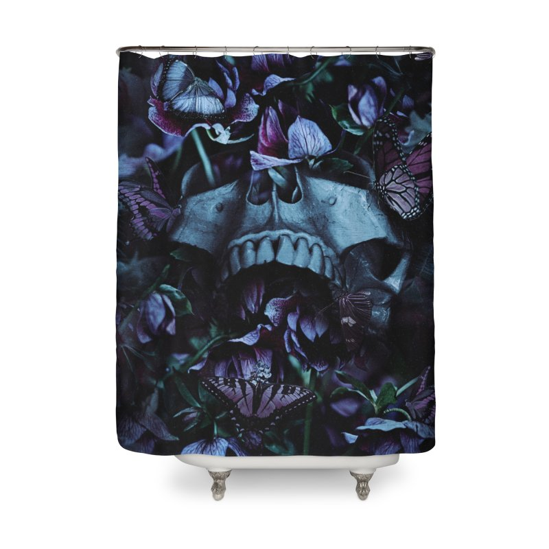 Blossom Death Home Shower Curtain by nicebleed