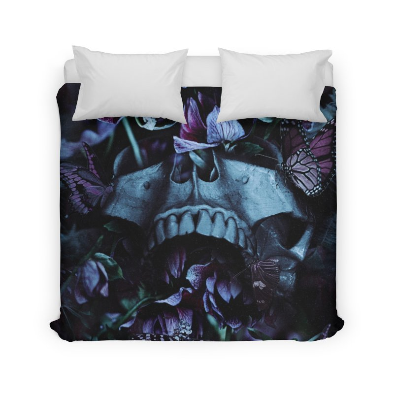 Blossom Death Home Duvet by nicebleed