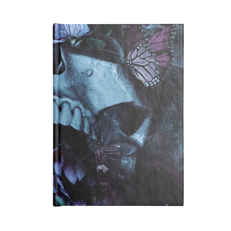 Blossom Death Accessories Blank Journal Notebook by nicebleed