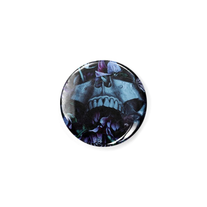 Blossom Death Accessories Button by nicebleed