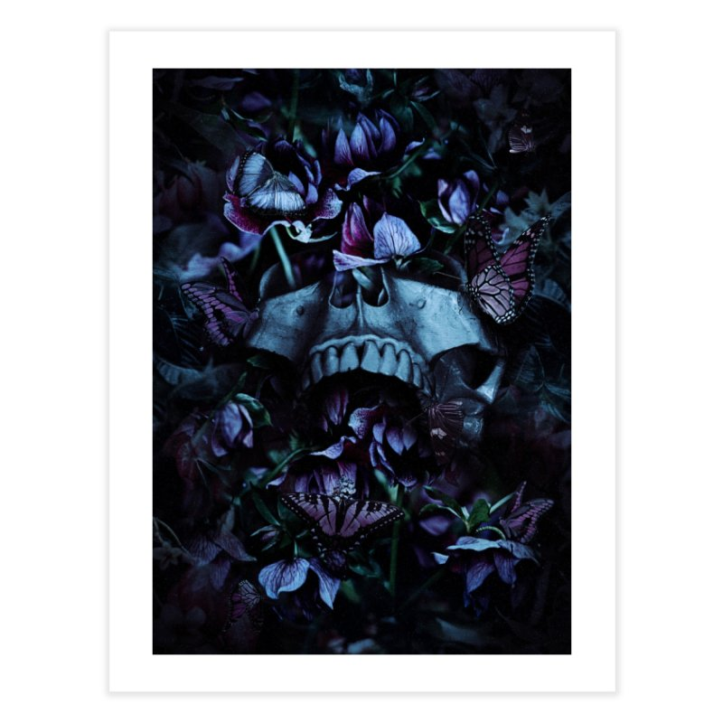 Blossom Death Home Fine Art Print by nicebleed