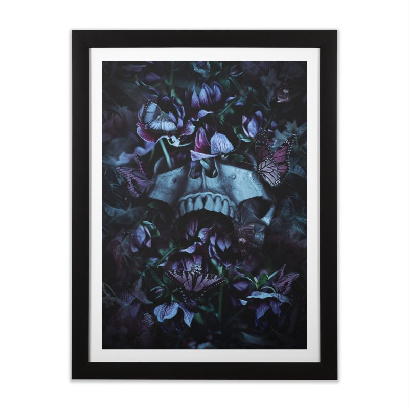 Blossom Death Home Framed Fine Art Print by nicebleed