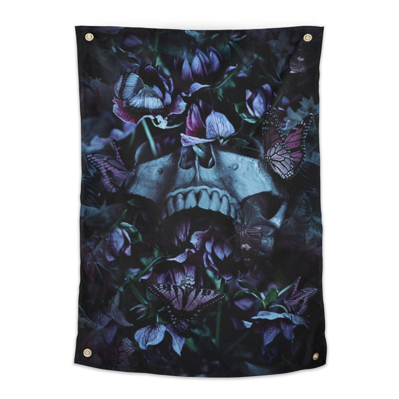 Blossom Death Home Tapestry by nicebleed