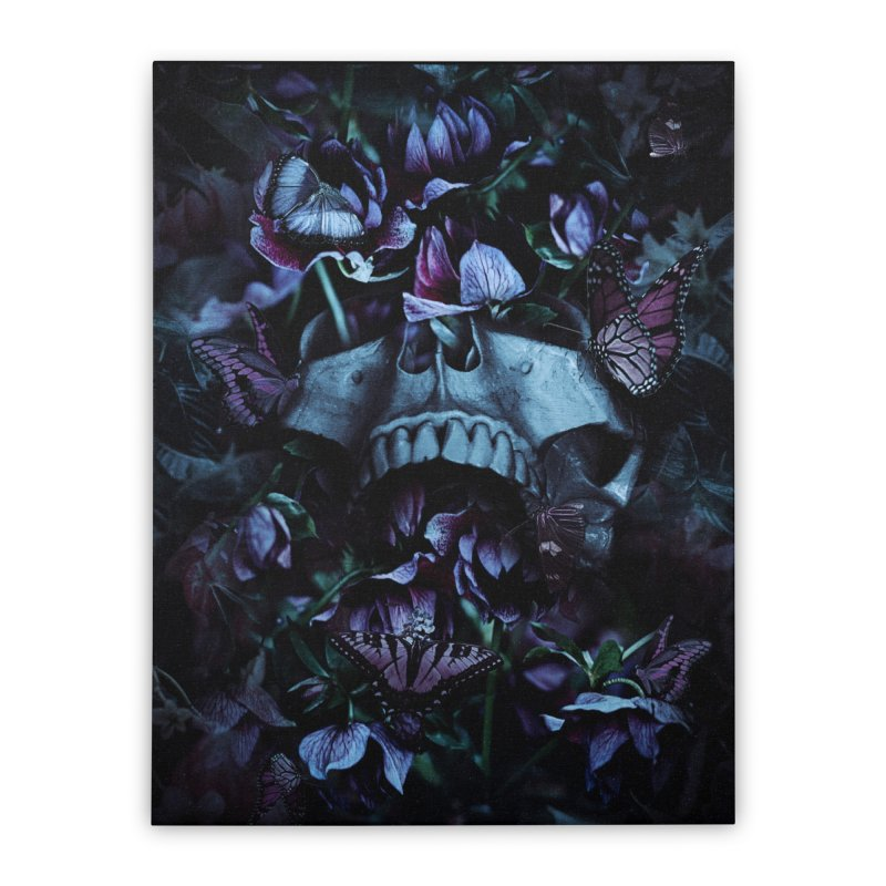 Blossom Death Home Stretched Canvas by nicebleed