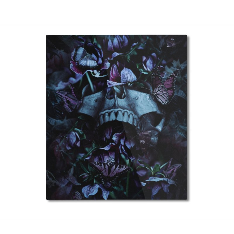 Blossom Death Home Mounted Aluminum Print by nicebleed