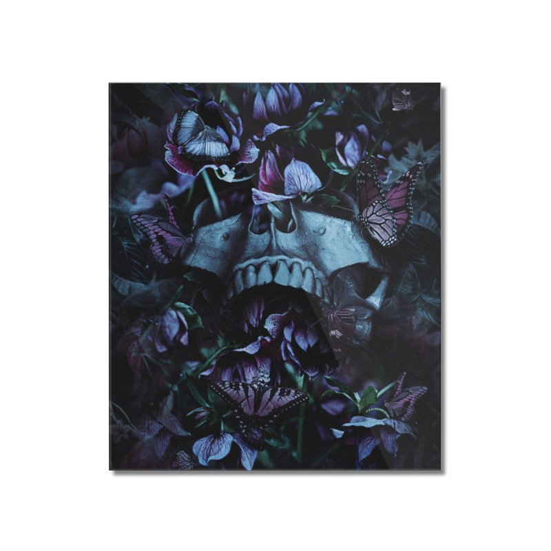 Blossom Death Home Mounted Acrylic Print by nicebleed