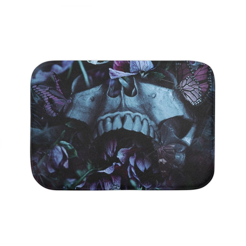 Blossom Death Home Bath Mat by nicebleed